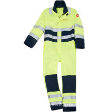 Inherently Fr Coverall with Reflective Tape